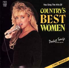 PSG-1116 Country's Best Women - Seattle Karaoke - Pocket Songs - English - CDG