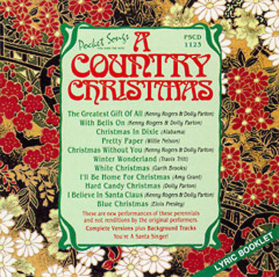 PSG-1123 Country X'Mas - Seattle Karaoke - Pocket Songs - English - CDG