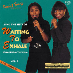 PSG-1207 Waiting to Exhale #2 - Seattle Karaoke - Pocket Songs - English - CDG
