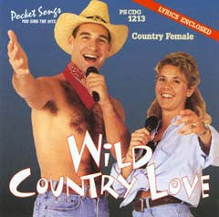 PSG-1213 Wild Country Love - Seattle Karaoke - Pocket Songs - English - CDG
