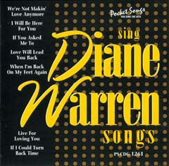 PSG-1261 Diane Warren Songs - Seattle Karaoke - Pocket Songs - English - CDG