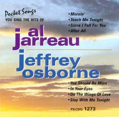 PSG-1273 Al Jarreau & Jeffrey Osborne - Seattle Karaoke - Pocket Songs - English - CDG