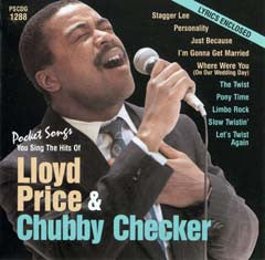 PSG-1288 Lloyd Price / Chubby Checker - Seattle Karaoke - Pocket Songs - English - CDG