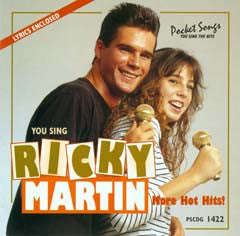 PSG-1422 Ricky Martin #2 - Seattle Karaoke - Pocket Songs - English - CDG