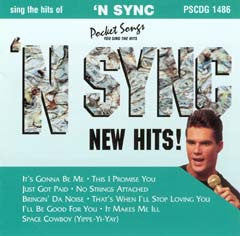 PSG-1486 'N Sync New Hits - Seattle Karaoke - Pocket Songs - English - CDG