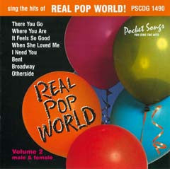 PSG-1490 Real Pop World #2 - Seattle Karaoke - Pocket Songs - English - CDG