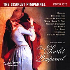 PSG-1512 Scarlet Pimpernel - Seattle Karaoke - Pocket Songs - English - CDG