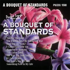 PSG-1590 A Bouquet of Standards - Seattle Karaoke - Pocket Songs - English - CDG