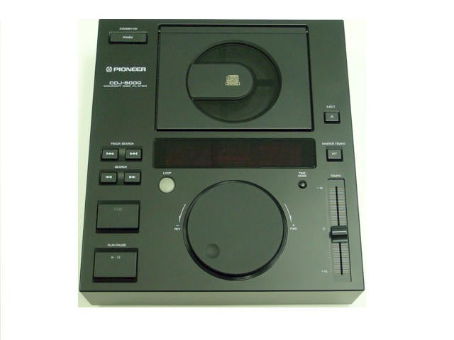 CDJ-500G Professional CD/CDG Player for DJs - Seattle Karaoke - Pioneer - Player