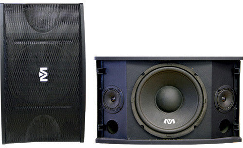 "Better Music Builder: CS-500V<br>Passive 10"" 450W+450W 2-Way Speakers - Seattle Karaoke - Better Music Builder - Speakers - 1"