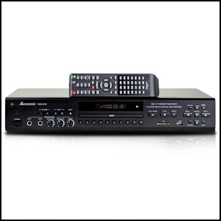 Acesonic: DGX-220  (Temp. Out of Stock)<br>CDG/DVD/VCD/MP3G Player with HDMI Output