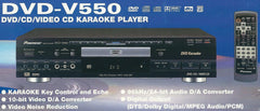 Pioneer DVD-V550 DVD/CD/VCD Karaoke Player - Seattle Karaoke - Pioneer - Players - 1