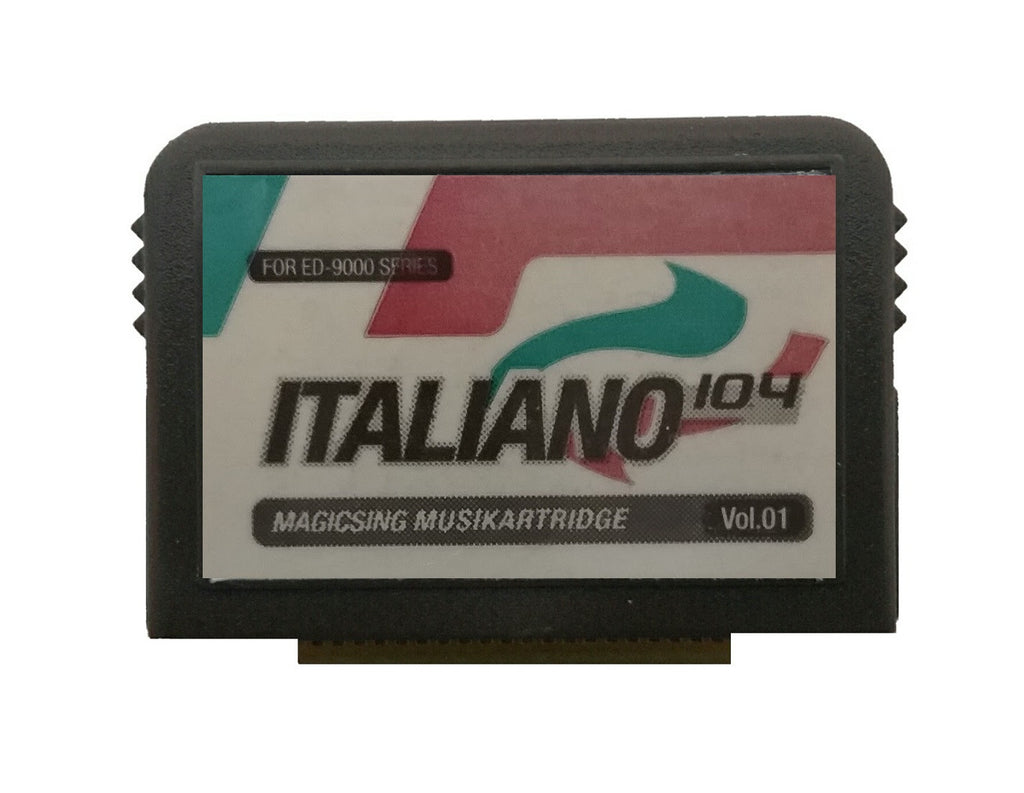 Italian Magic Sing Song Chip - 104 Songs