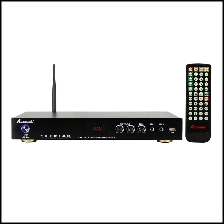 KOD-6000 Pro Dual Hard Drive Multimedia Karaoke Player - Vietnamese Edition - 6TB <br>