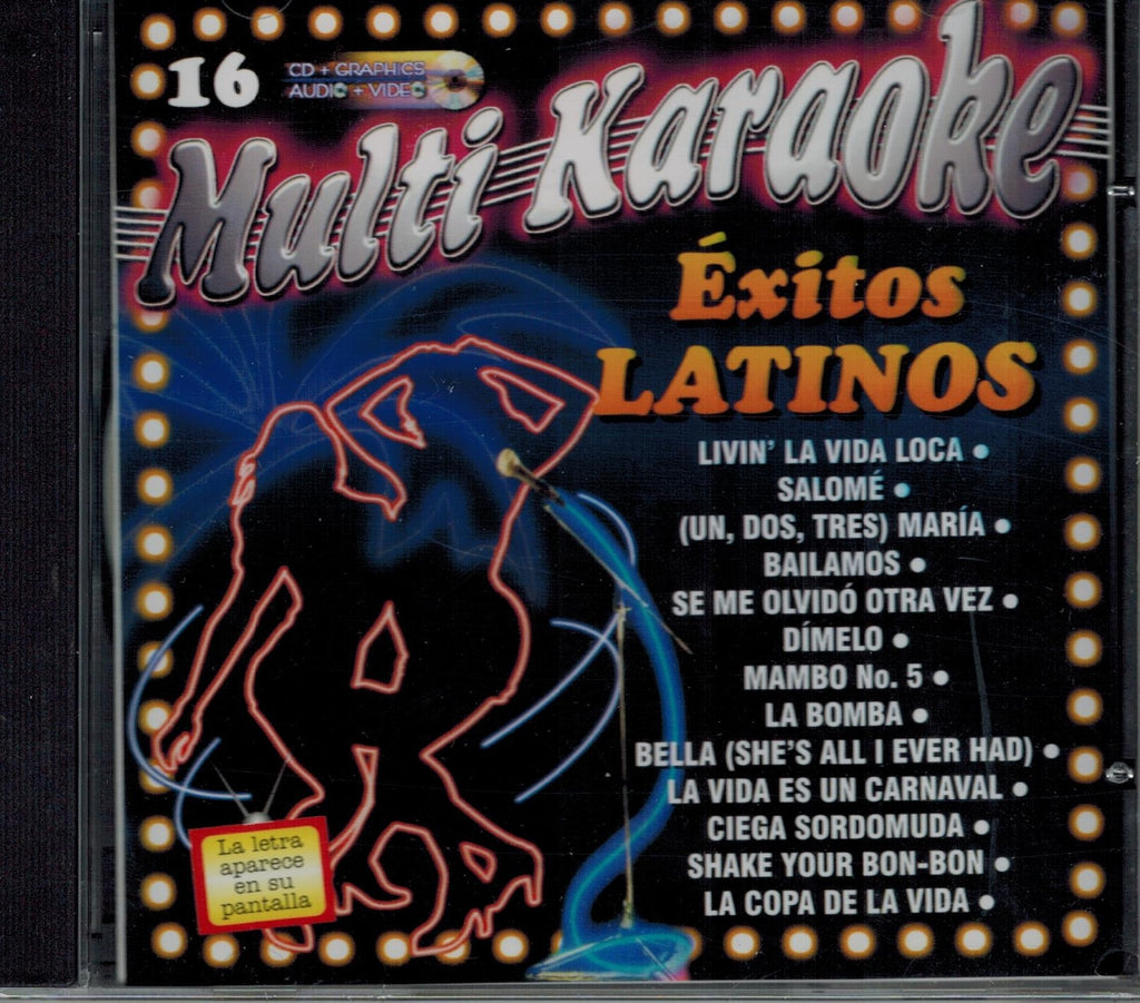 OKE-016 Exitos Latinos - Seattle Karaoke - Multi Karaoke - Spanish - CDG