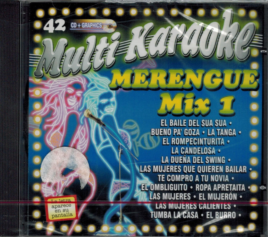 OKE-042 Merengue Mix - Seattle Karaoke - Multi Karaoke - Spanish - CDG