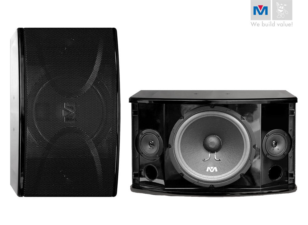 "Better Music Builder: CS-600 G2<br>Passive 10"" 450W+450W 3-Way Gloss Finish Speakers - Seattle Karaoke - Better Music Builder - Speakers - 1"