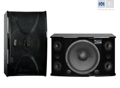 "Better Music Builder: CS-812 G3 PRO<br>Passive 12"" 300W+300W 3-Way Speakers - Seattle Karaoke - Better Music Builder - Speakers - 1"