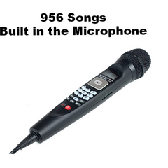 Rental Package CV:<br>Handheld Mic System w/ 956 English Songs - Seattle Karaoke - Rental - Systems w/ English Songs - 1