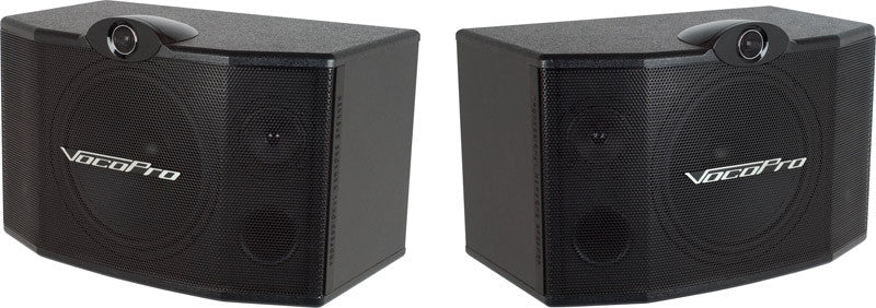 "VocoPro: SV-500 Passive 250Watts 10"" 3-Way Speakers (pair) - Seattle Karaoke - VocoPro - Speakers - 1"