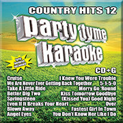SYB-1115 Country Hits #12 - Seattle Karaoke - Party Tyme/ Sybersound - English - CDG
