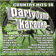 SYB-1119 Country Hits #14 - Seattle Karaoke - Party Tyme/ Sybersound - English - CDG