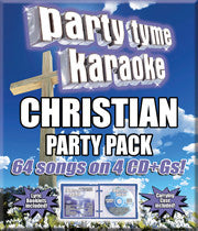 SYB-4448 CHRISTIAN PARTY PACK - Seattle Karaoke - Party Tyme/ Sybersound - English - CDG Packs:<br>_________Party Tyme Packs