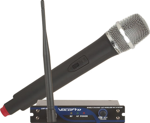 Rental UHF Wireless Microphone - Single - Seattle Karaoke - Rental - Rental Microphones & Stands
