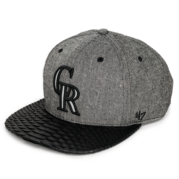 Rockies Heather Grey Custom