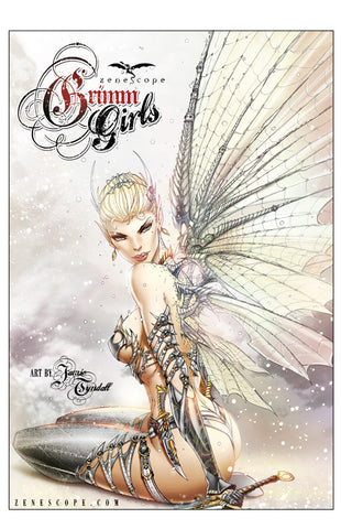 Grimm Girls Art Book Hard Cover