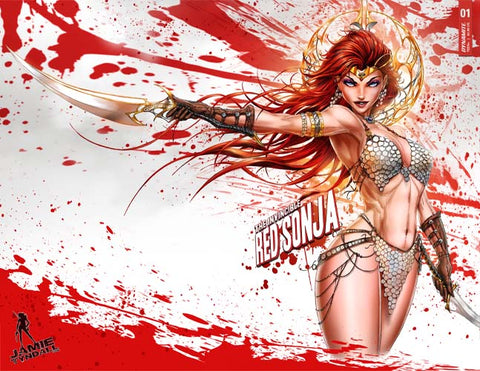 2021 Invincible Red Sonja #1 Trade