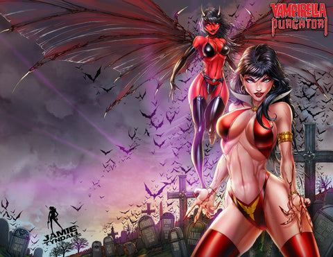 2021 Vampirella VS. Purgatori #3 Trade