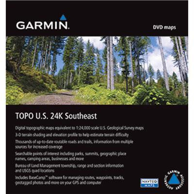 TOPO U.S. 24K  Southeast DVD - Garmin USA - 010-11319-00 - Humble Brothers