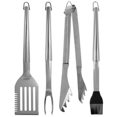 BR SS 4 Piece BBQ Tool Set - Mr Bar B Q - 02826X - Humble Brothers