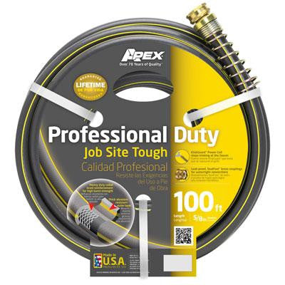 ".625""x100' Prof Duty Hose - Teknor Apex - 888VR-100 - Humble Brothers"