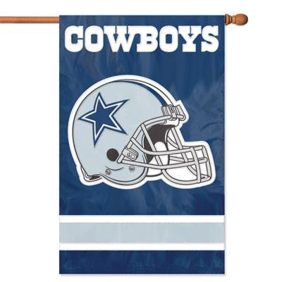 Cowboys Helmet Applique Banner - Party Animal - AFDA - Humble Brothers