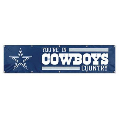 Cowboys 8ft X 2ft Banner - Party Animal - BDA - Humble Brothers