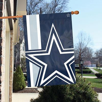 Cowboys 2'x3' Bold Logo Banner - Party Animal - BLDA - Humble Brothers