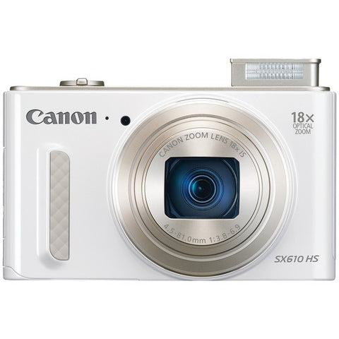 20.0 Megapixel PowerShot(R) SX610 HS Digital Camera (White) - CANON - 0012C001 - Humble Brothers