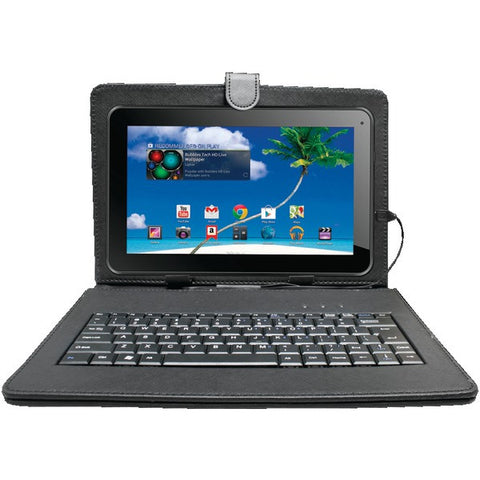"10"" Bluetooth(R) Quad-Core Tablet with 8GB Memory, Case & Keyboard - PROSCAN - PLT1077G-K - Humble Brothers"