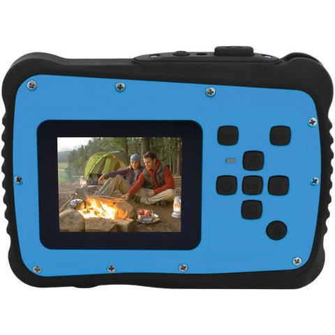 12.0 Megapixel MiniXtreme HD Video Waterproof Digital Camera Kit (Blue) - COLEMAN - C6WP-BL - Humble Brothers