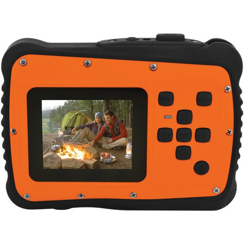 12.0 Megapixel MiniXtreme HD Video Waterproof Digital Camera Kit (Orange) - COLEMAN - C6WP-O - Humble Brothers