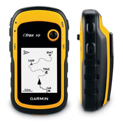 eTrex 10 GPS handheld Yell blk - Garmin USA - 010-00970-00 - Humble Brothers