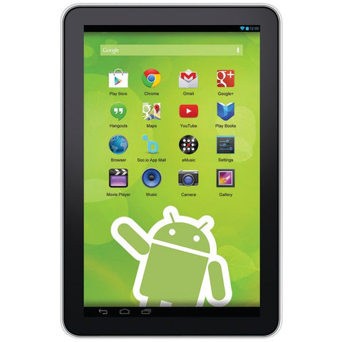 "10"" Android(TM) 4.3 Quad-Core Google(R) Tablet - ZEKI - TBQG1084B - Humble Brothers"