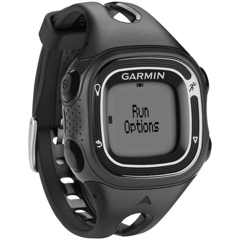 Forerunner(R) 10 GPS-Enabled Running Watch(Black/Silver) - GARMIN - 010-01039-19 - Humble Brothers