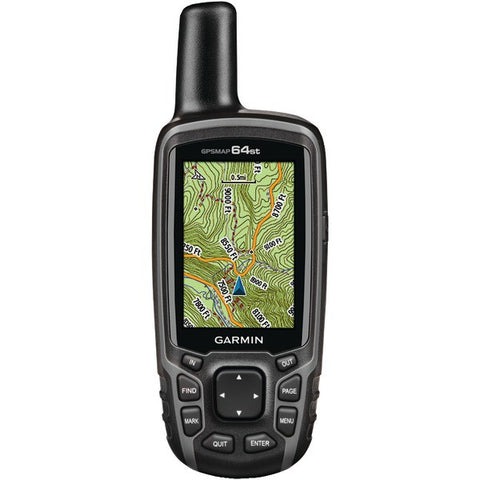 GPSMAP(R) 64st Worldwide GPS Receiver (Preloaded TOPO US 100K maps, 3-Axis Electronic Compass) - GARMIN - 010-01199-20 - Humble Brothers