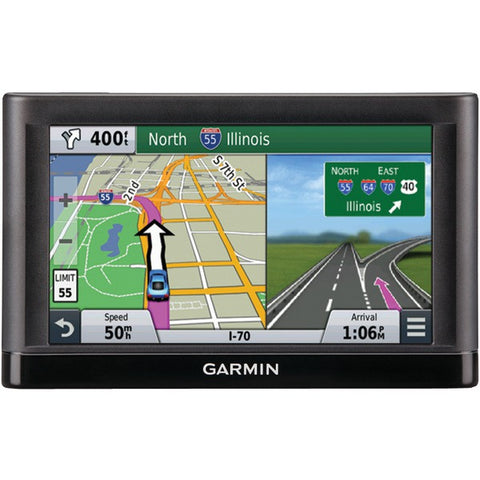 "nuvi(R) 66 6"" GPS Travel Assistant with Free Lifetime Maps (66LMT; Includes traffic avoidance) - GARMIN - 010-01211-05 - Humble Brothers"