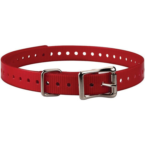 "Delta(TM) 3/4""-Wide Collar Strap (Red) - GARMIN - 010-11870-02 - Humble Brothers"