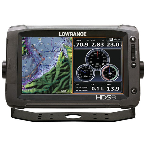 HDS-9 Gen2 Touch Fishfinder with Insight(TM) Chartplotter & 83/200kHz Skimmer(R) - LOWRANCE - 000-11280-001 - Humble Brothers