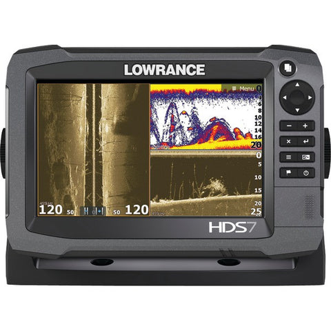 HDS-7 Gen3 Insight(TM) Fishfinder/Chartplotter with 83/200kHz Transducer & Lowrance SmartSteer(TM) - LOWRANCE - 000-11788-001 - Humble Brothers